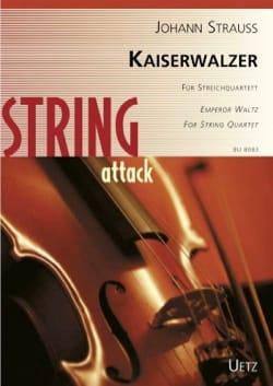 Kaiserwalzer - Quatuor à cordes Johann (Fils) Strauss laflutedepan