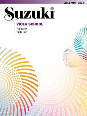 Suzuki Viola School Vol. 9 SUZUKI Partition Alto - laflutedepan