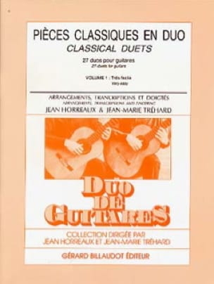Pièces Classiques en Duo Volume 1 - laflutedepan.com