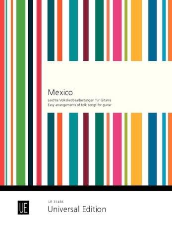 Mexico - Karl Bruckner - Partition - Guitare - laflutedepan.com