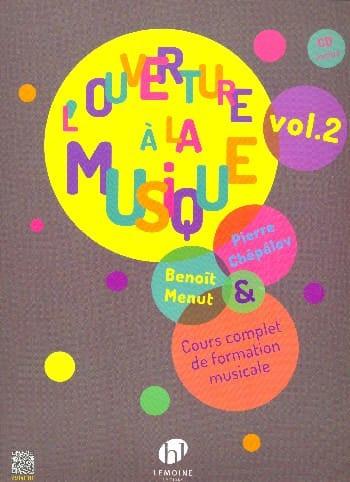 L'Ouverture à la musique - Volume 2 - laflutedepan.com
