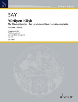 Yürüyen Kösk - Quintette avec Piano - Fazil Say - laflutedepan.com