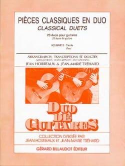 Pièces classiques en duo - Volume 2 guitares laflutedepan