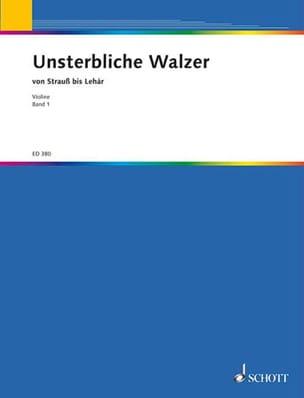 Unsterbliche Walzer - Bd 1 Violon Solo Valse Recueil laflutedepan