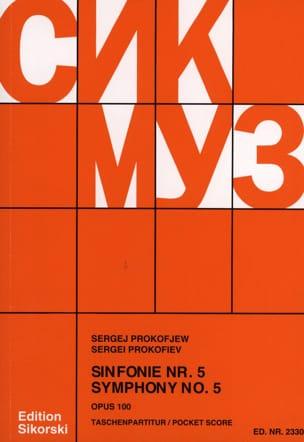 Serge Prokofiev - Symphony No. 5 op. 100 - Score - Partition - di-arezzo.co.uk