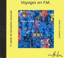 Voyages en FM - CD Marie-Alice Charritat Partition laflutedepan