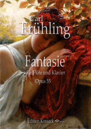 Fantaisie, opus 55 Carl Frühling Partition laflutedepan