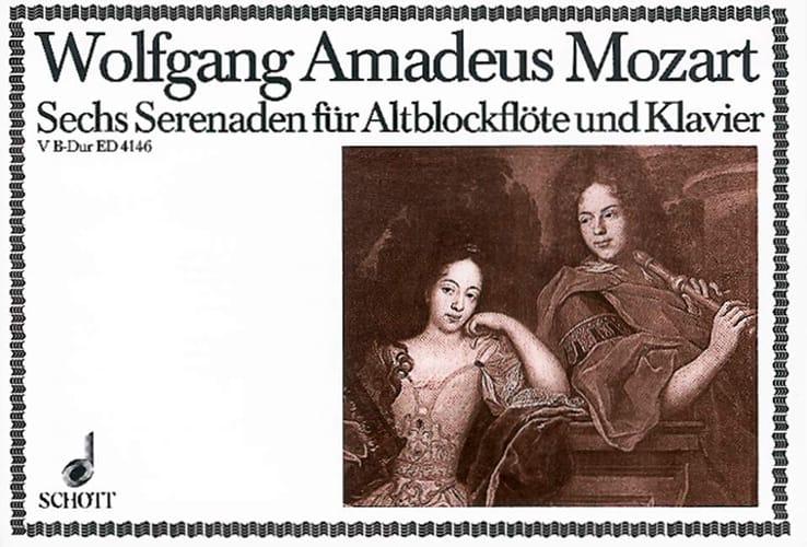 Serenade Nr. 5 B-Dur - Altblockflöte u. Klavier - laflutedepan.com