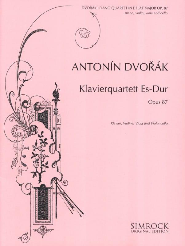 Klavierquartett Es-Dur op. 87 - Partitur + Stimmen - laflutedepan.com