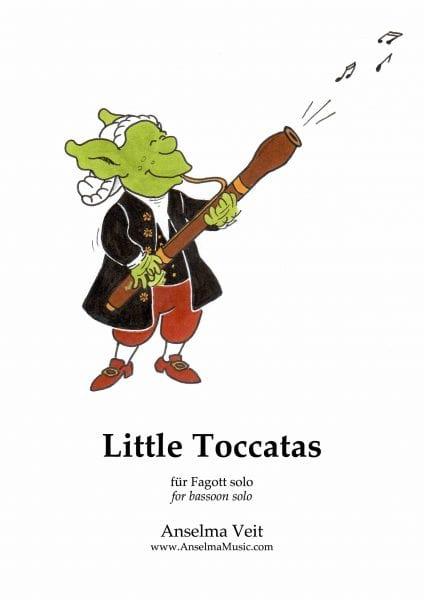 Little Toccatas - Anselma Veit - Partition - laflutedepan.com