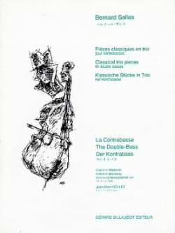 Pieces classiques en trio Bernard Salles Partition laflutedepan