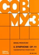 Symphonie n° 6 op. 111- Score PROKOFIEV Partition laflutedepan