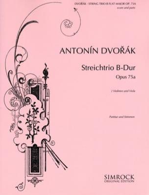 Miniatures Streichtrio B-Dur Op. 75a -partitur + Stimmen laflutedepan