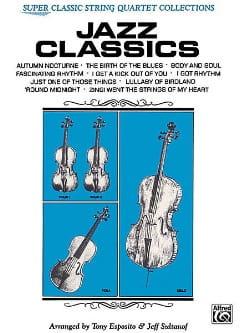 Jazz Classics - String Quartet laflutedepan