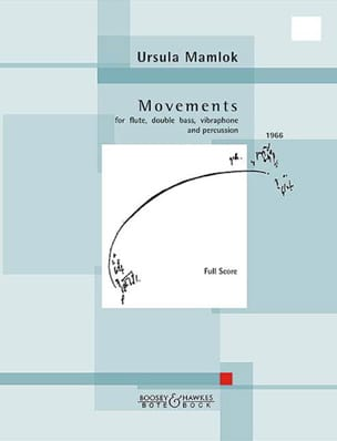 Movements Ursula Mamlok Partition Quatuors - laflutedepan