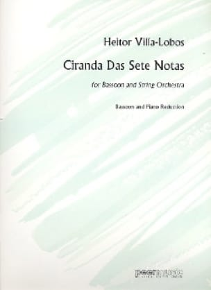 Ciranda Das Sete Notas - VILLA-LOBOS - Partition - laflutedepan.com