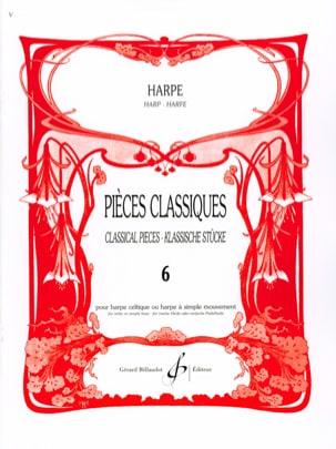 Pièces classiques Volume 6 -Harpe Partition Harpe - laflutedepan