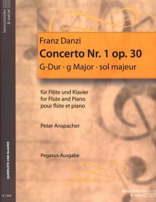Concerto n° 1 op. 30 - Flöte Klavier Franz Danzi laflutedepan
