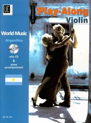 World Music - Argentina Violon / Piano Partition laflutedepan