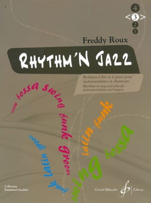 Freddy Roux - Rhythm'n Jazz Volume 3 - Partition - di-arezzo.co.uk