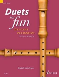 Duets for Fun - Flûtes à Bec Soprano Partition laflutedepan
