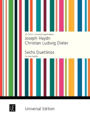 6 Duettinos für 2 Fagotte - HAYDN - Partition - laflutedepan.com