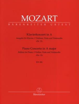 Concerto pour piano en la Majeur KV 414 - Version Quintette cordes piano laflutedepan