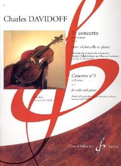 1er Concerto en Si Min. Op. 5 Charles Davidoff Partition laflutedepan