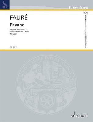 Pavane FAURÉ Partition Duos - laflutedepan