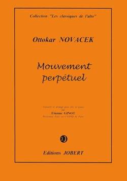 Mouvement Perpétuel - Alto Ottokar Novacek Partition laflutedepan