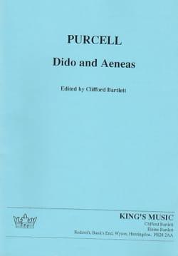 Didon et Enée PURCELL Partition Grand format - laflutedepan