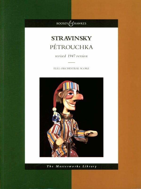Petrouchka - STRAVINSKY - Partition - Grand format - laflutedepan.com