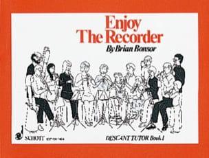 Enjoy the recorder - 1 - Descant tutor Brian Bonsor laflutedepan