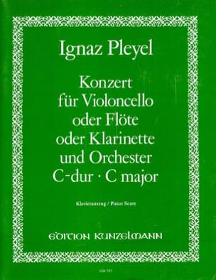 Concerto en do majeur - Ignaz Pleyel - Partition - laflutedepan.com