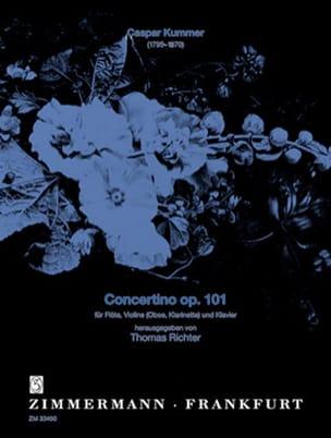 Gaspard Kummer - Concertino op. 101 - Partition - di-arezzo.com