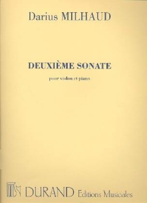 Sonate N° 2 - Violon - MILHAUD - Partition - Violon - laflutedepan.com
