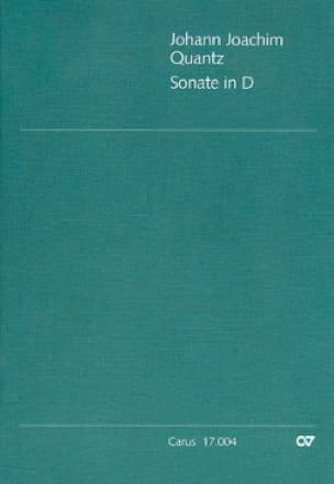 Sonate in D - QV 1:44 - Flöte und Bc - QUANTZ - laflutedepan.com