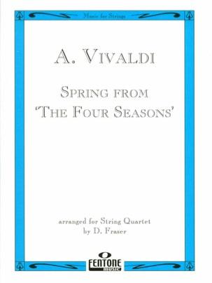 Spring from The four seasons - String Quartet - laflutedepan.com