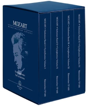 Complete Symphonies MOZART Partition Petit format - laflutedepan