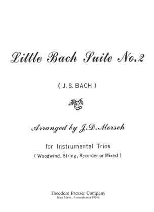 Little Bach Suite n° 2 - Instrumentals trio BACH laflutedepan