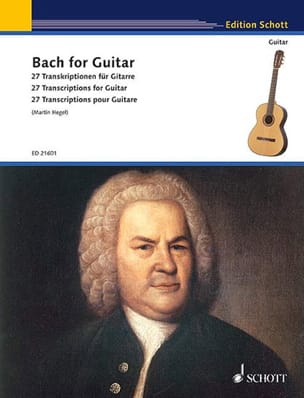 Bach for Guitar BACH Partition Guitare - laflutedepan