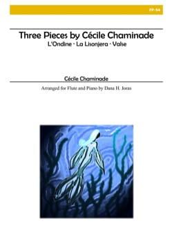 3 Pièces - Flûte et Piano Cécile Chaminade Partition laflutedepan