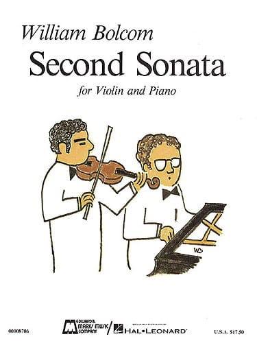 Second Sonata for Violin and Piano - William Bolcom - laflutedepan.com
