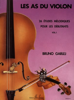 Les As du Violon Volume 1 Bruno Garlej Partition laflutedepan