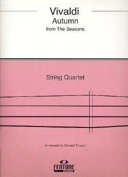 Autumn from The four seasons - String Quartet VIVALDI laflutedepan
