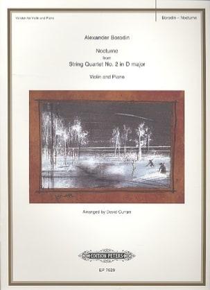 Nocturne - Violin BORODINE Partition Violon - laflutedepan