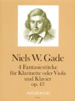4 Fantasiestücke op. 43 Niels Wilhelm Gade Partition laflutedepan
