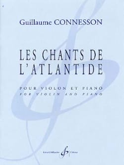 Les Chants De L' Atlantide - CONNESSON - Partition - laflutedepan.com