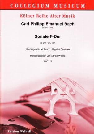 Sonate en Fa Majeur Carl Philipp Emanuel Bach Partition laflutedepan