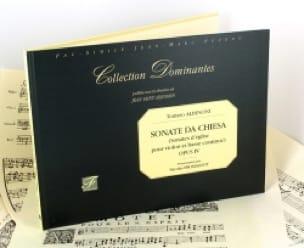 Sonate da chiesa op. 4 fac similé - ALBINONI - laflutedepan.com
